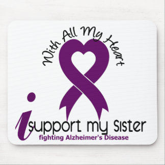 Alzheimers Disease I Support My Sister Mouse Pad