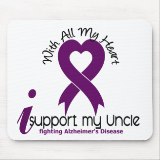 Alzheimers Disease I Support My Uncle Mouse Pads