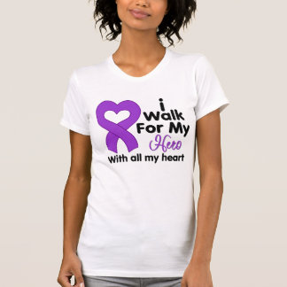 Alzheimer's Disease I Walk For My Hero Shirt