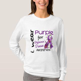 Alzheimers Disease I Wear Purple For Awareness 43 T-Shirt