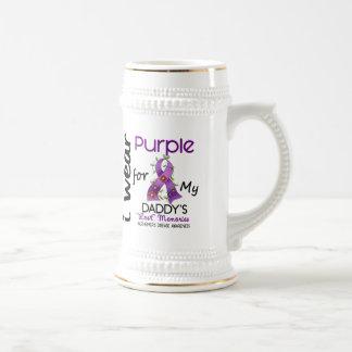 Alzheimers Disease I Wear Purple For My Daddy 43 Mug