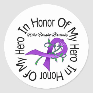 Alzheimers Disease In Honor Of My Hero Sticker
