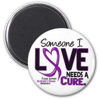 Alzheimer's Disease NEEDS A CURE 2 Magnet