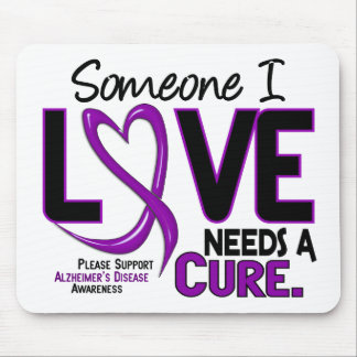 Alzheimer's Disease NEEDS A CURE 2 Mouse Pad