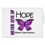 Alzheimer's Disease Never Give Up Hope Butterfly 4