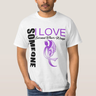 Alzheimers Disease Someone I Love Earned Wings T-Shirt