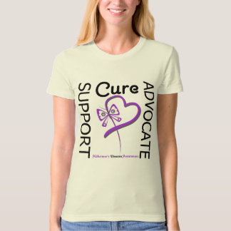 Alzheimers Disease Support Advocate Cure T-Shirt
