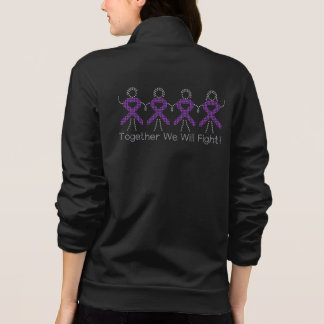 Alzheimer's Disease Together We Will Fight Jacket