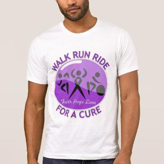 Alzheimer's Disease Walk Run Ride For A Cure Shirt