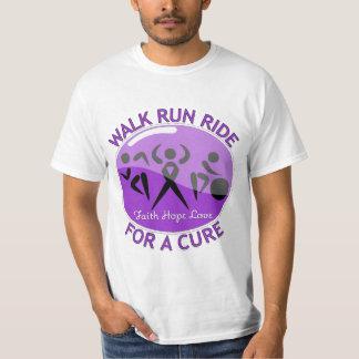 Alzheimer's Disease Walk Run Ride For A Cure Tees
