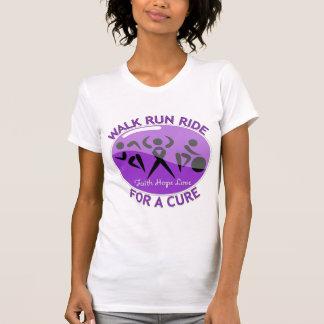 Alzheimer's Disease Walk Run Ride For A Cure Tshirts