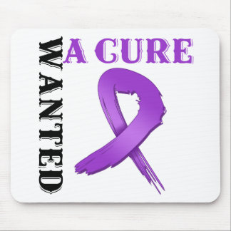 Alzheimer's Disease WANTED A CURE Mouse Pad
