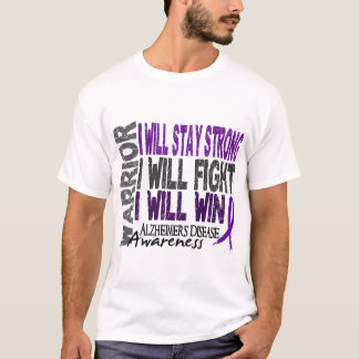 Alzheimer's Disease Warrior T-Shirt
