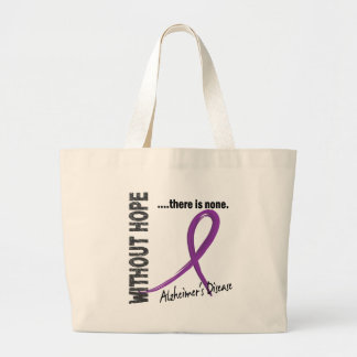 Alzheimers Disease Without Hope 1 Canvas Bag