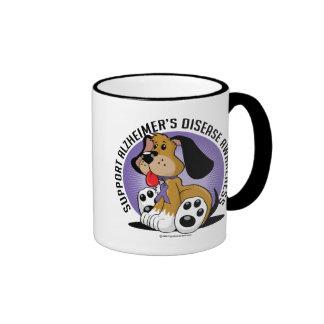 Alzheimers Dog Ringer Mug