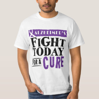 Alzheimer's Fight Today For A Cure T-shirt