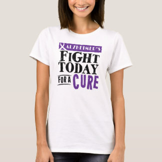 Alzheimer's Fight Today For A Cure Tee