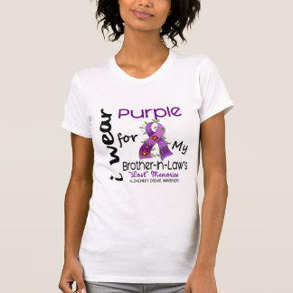 Alzheimers I Wear Purple For My Brother-In-Law 43 Tees