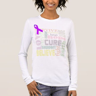 Alzheimer's Inspirational Words Long Sleeve Shirt