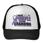 Alzheimers Purple For GRANDMA Cap