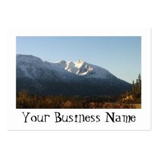 AM Alaskan Mountains Business Card Template