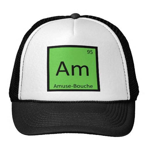 Am - Amuse-Bouche Chemistry Periodic Table Trucker Hats