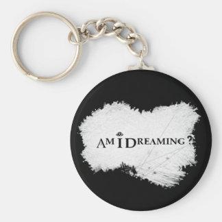 Am I Dreaming? Basic Keychain Black