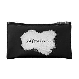 Am I Dreaming? Cosmetic Bag Black