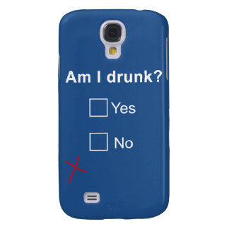 'Am I Drunk?' Galaxy S4 Case