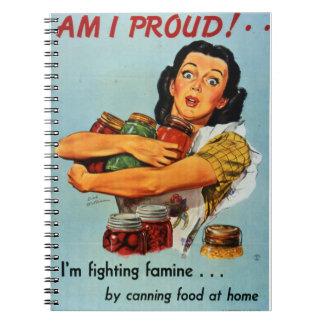 """Am I Proud"" 1940s notebook"