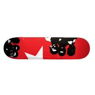 AM Radio Art Sublimination Skateboard Deck