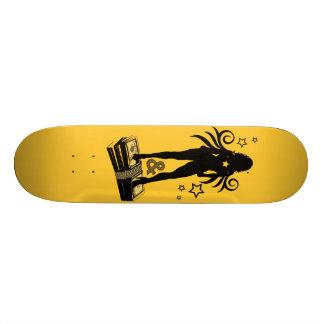 AM Radio B M Skate Deck