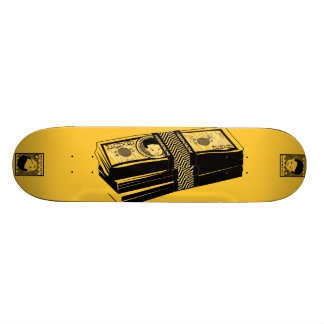 "AM Radio ""Bone Money"" 20 Cm Skateboard Deck"