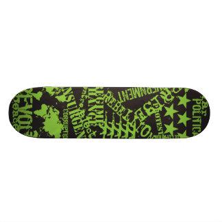 AM Radio Green Politics Skateboards
