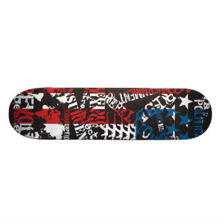 "AM Radio ""Patriot Politics"" Skate Boards"