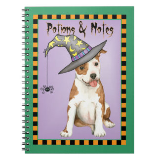 Am Staff Witch Notebooks