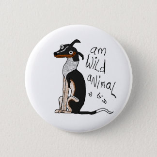 Am Wild Animal 6 Cm Round Badge