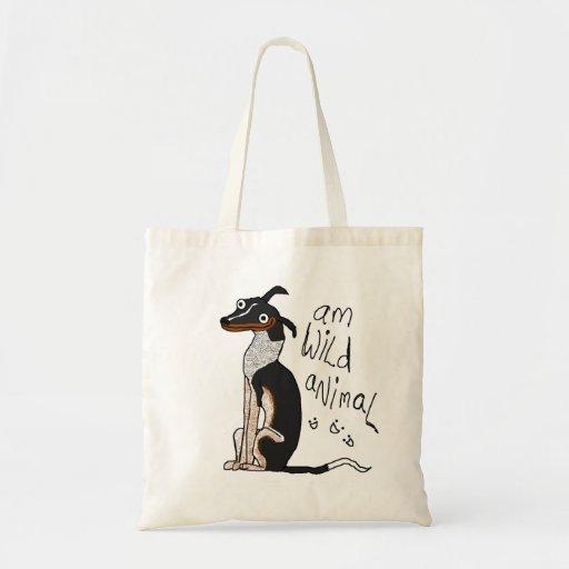 """Am Wild Animal"" Bag"