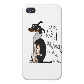 Am Wild Animal iPhone 4 Cover