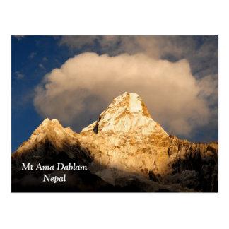 Ama Dablam Crowning Glory Postcard