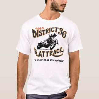 AMA District 36 Flattrackers (Alumni) T-Shirt