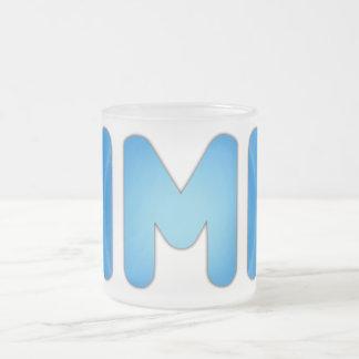 AMA FROSTED GLASS MUG