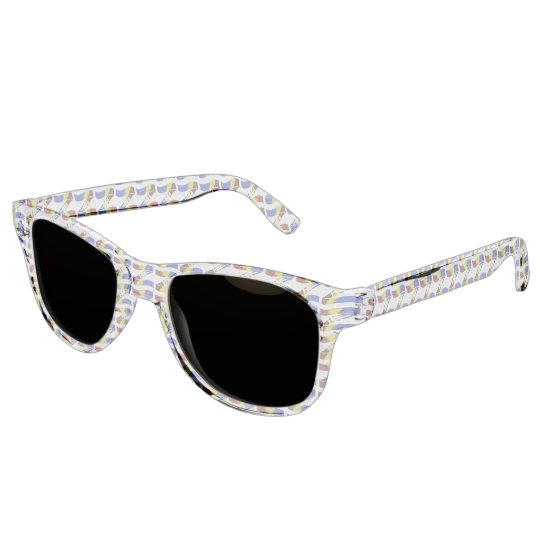 Ama-Zam Youth Clear Sunglasses