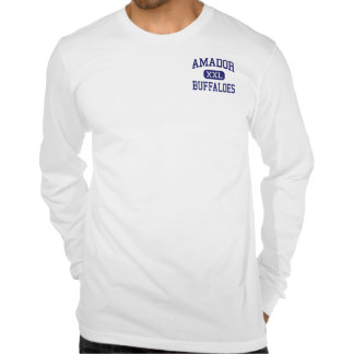 Amador - Buffaloes - High - Sutter Creek Tshirts