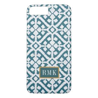 Amadora Blue Pattern iPhone 8 Plus/7 Plus Case