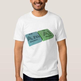 Amal as Americium Am  and Aluminium Al Shirt