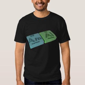 Amal as Americium Am  and Aluminium Al T Shirt