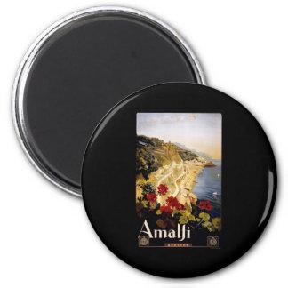 Amalfi 6 Cm Round Magnet