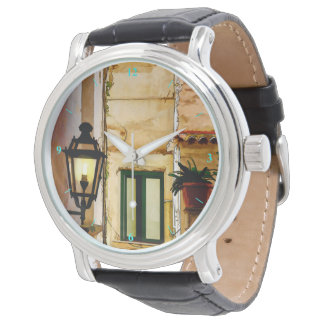 Amalfi backstreets wrist watch
