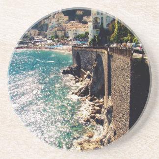 Amalfi Coast Coaster